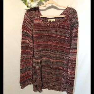 Olive and Oak Fall Sweater Size Large